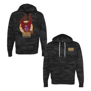 DSO Autumn 2020 Pullover Hoodie in Black Camo