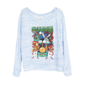DSO Crazy Rabbit Off-Shoulder Long Sleeve