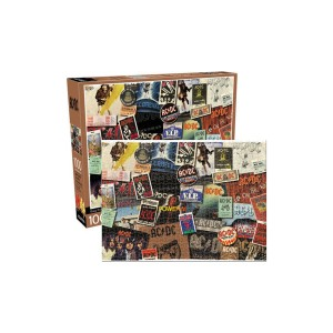 AC/DC Albums 1000 Piece Puzzle