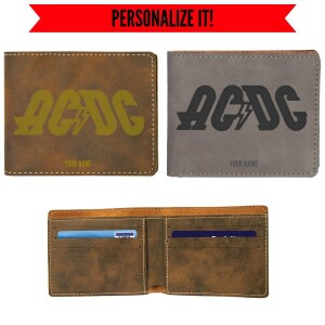 High Voltage Logo Vegan Leather Wallet