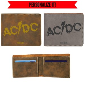 Powerage Logo Vegan Leather Wallet