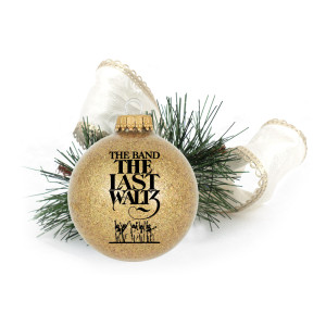 The Band Last Waltz Gold Ornament