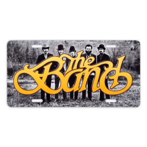 The Band License Plate