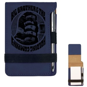 Sideways Glance Mini Notepad w/Pen