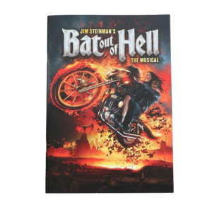 Bat Out Of Hell Tour Program