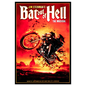 Bat Out Of Hell Lithograph