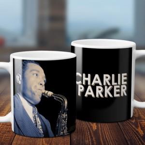 Colorized Charlie Parker Coffee Mug