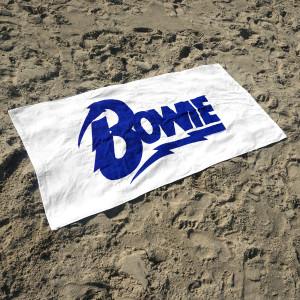 David Bowie Logo Beach Towel