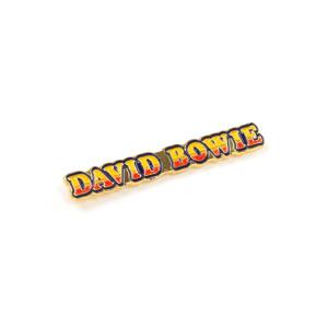 David Bowie Ziggy Stardust Logo Pin