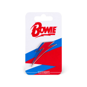 David Bowie Bolt Logo Enamel Pin