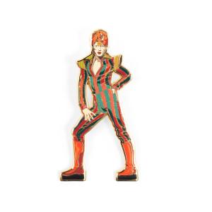 Ziggy Stardust Enamel Pin