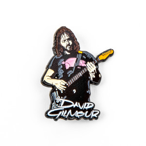 David Gilmour Live Enamel Pin