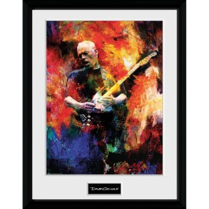 "David Gilmour Painting 12"" x 16"" Collector's Print"