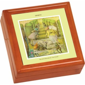 Selling England By The Pound Wooden Keepsake Box