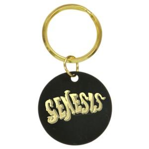 80s Logo Brass Keychain