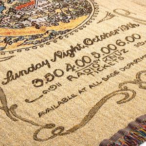 Janis Joplin Throw Blanket