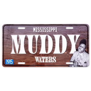 Muddy Waters License Plate