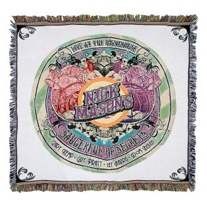 Nick Mason's Saucerful of Secrets Live at the Roundhouse Throw Blanket