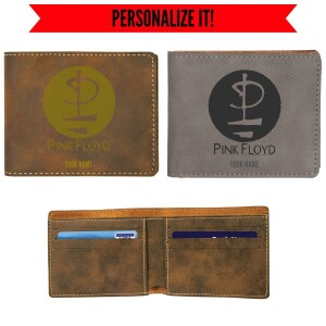 Division Bell Glyph Vegan Leather Wallet
