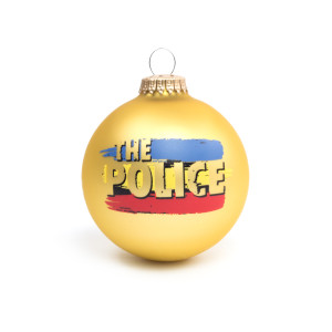 The Police Synchroncity Holiday Ornament