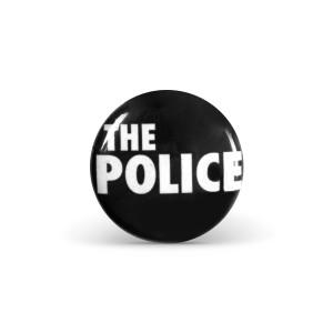 The Police Logo Button