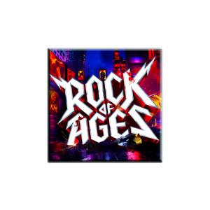 Rock of Ages Logo Magnet