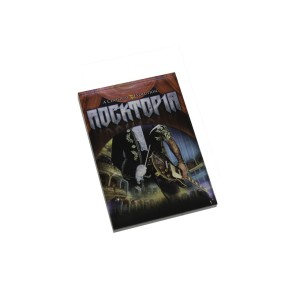 Rocktopia Acrylic Magnet