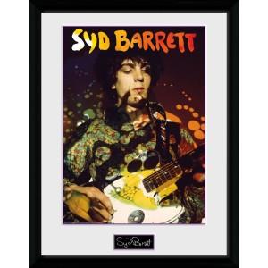 Syd Barrett Guitar Portrait 12 x 16 Collector Print