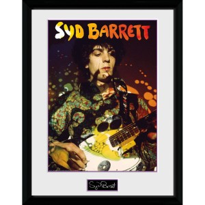 Syd Barrett Guitar Portrait 12 x 16 Collector Print