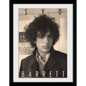 Syd Barrett BW Portrait 12 x 16 Collector Print