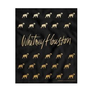 Whitney Houston Lioness Fleece Blanket