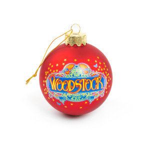 Woodstock Glass Ball Ornament