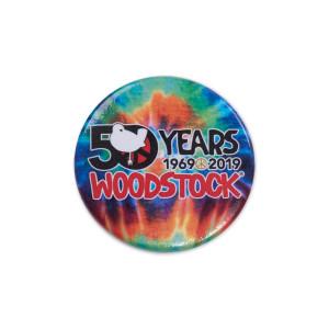 Woodstock Tie Dye Pin