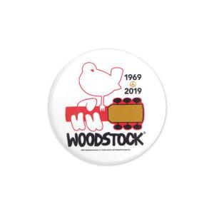 Woodstock 50th Anniversary White Pin