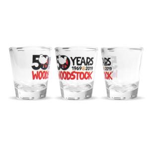 50th Anniversary Logo Shot Glass