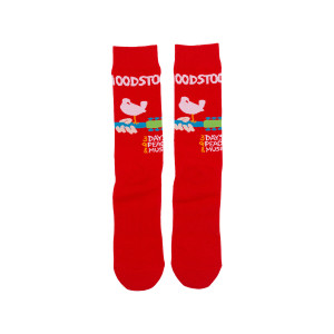 Woodstock 3 Days of Peace Socks