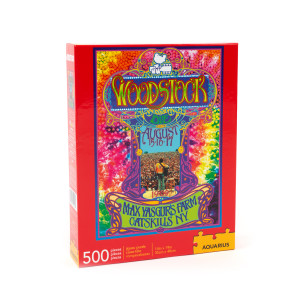 Woodstock Poster 500 Piece Jigsaw Puzzle
