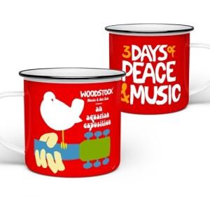 Official Woodstock Festival Camp Mug