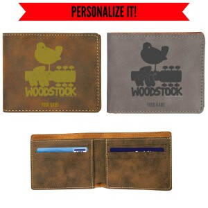 Logo Vegan Leather Wallet