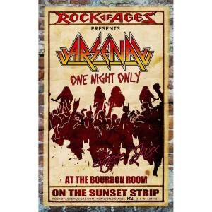 Rock of Ages ARENA Window Card