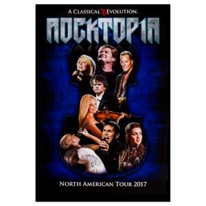 Rocktopia Official Tour Poster