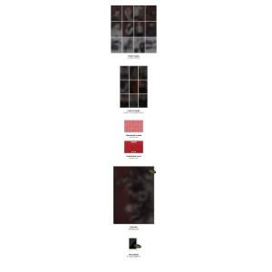 Ateez Treasure A. Ver Package Black Edition & Men's Black Tee Bundle
