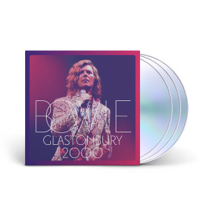 David Bowie - Glastonbury 2000 2 CD + DVD Set