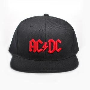 Red 3D Logo Snapback Baseball Hat