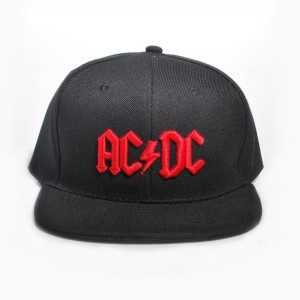 Red 3D Logo Snapback Baseball Hat