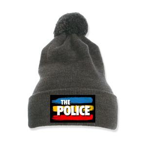 The Police Pom-Pom Knit Beanie