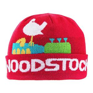 Woodstock Red Beanie Bird Guitar