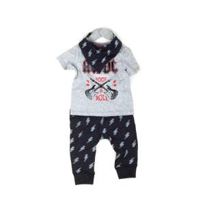 AC/DC Rock & Roll Kids Pajama Set