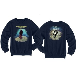 David Gilmour Yes, I have Ghosts Navy Crewneck