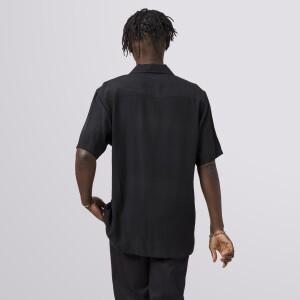 Miles Davis Yesternow Short Sleeve Woven Top